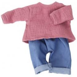 FOXGLOVE spodenki i bluzka dla lalki 38 cm