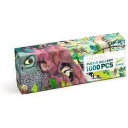 SOWY I PTAKI puzzle tekturowe 1000 el.