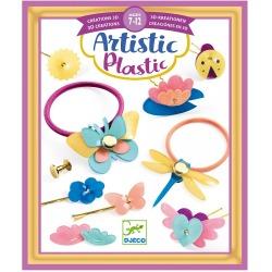 AKCESORIA DO WŁOSÓW zestaw artystyczny magiczny plastik