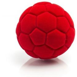 PIŁECZKA futbolowa sensoryczna czerwona mała