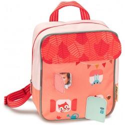 LEŚNY DOMEK plecak dla przedszkolaka