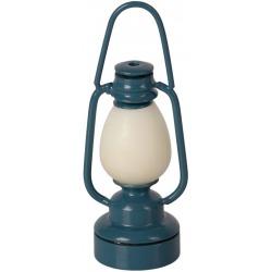 NIEBIESKA LAMPKA retro akcesoria dla lalek