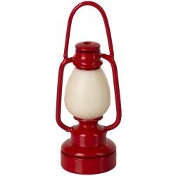 CZERWONA LAMPKA retro akcesoria dla lalek