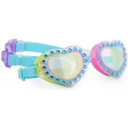 NIEBIAŃSKIE SERDUSZKA okulary do pływania
