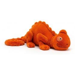 KAMELEON pomarańczowa przytulanka Vividie 40 cm