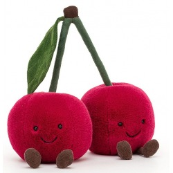CZEREŚNIE przytulanka 22 cm Amuseable Cherries