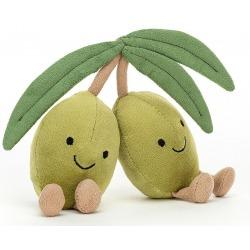 OLIWKI ZIELONE przytulanka 11 cm Amuseable Olives