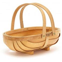 KOSZYCZEK drewniany na produkty spożywcze