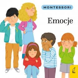 EMOCJE Montessori książeczka dla dzieci
