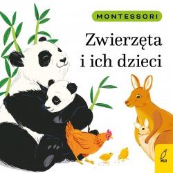 ZWIERZĘTA I ICH DZIECI Montessori książeczka dla dzieci