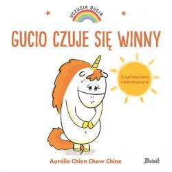 GUCIO CZUJE SIĘ WINNY książeczka Uczucia Gucia Aurelie Chien Chow Chine