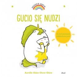 GUCIO SIĘ NUDZI książeczka Uczucia Gucia Aurelie Chien Chow Chine