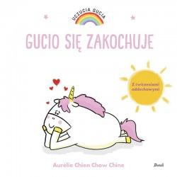 GUCIO SIĘ ZAKOCHUJE książeczka Uczucia Gucia Aurelie Chien Chow Chine