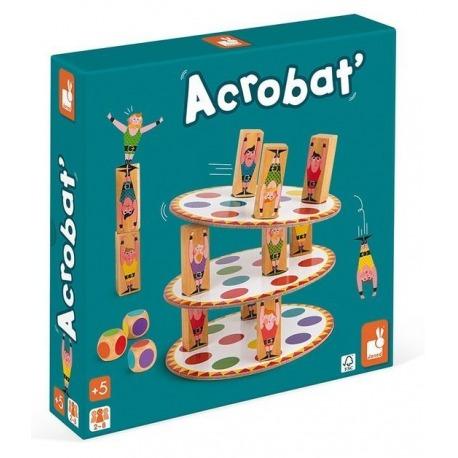 AKROBACI drewniana gra zręcznościowa