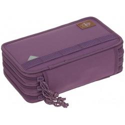 POTRÓJNY PIÓRNIK z wyposażeniem purple Unique