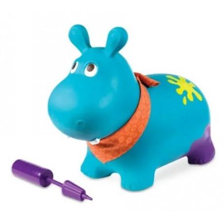 OUTLET - HIPCIO niebieski skoczek z pompką