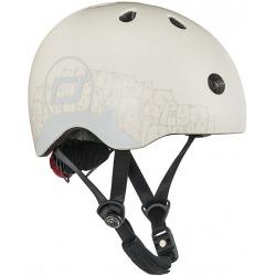 ASH BEAR kask rowerowy z odblaskami dla dzieci 1-5 lat XXS-S