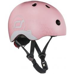ROSE CAT kask rowerowy z odblaskami dla dzieci 1-5 lat XXS-S