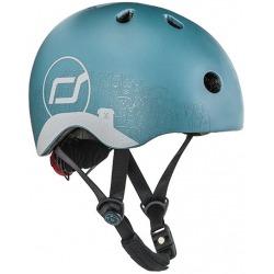 STEEL DOG kask rowerowy z odblaskami dla dzieci 1-5 lat XXS-S