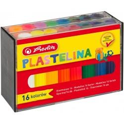 PLASTELINA zestaw 16 szt.