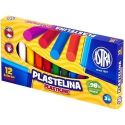 PLASTELINA KLASYCZNA zestaw 12 kolorów