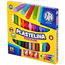 PLASTELINA KLASYCZNA zestaw 24 kolory