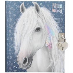 MISS MELODY pamiętnik z kłódką