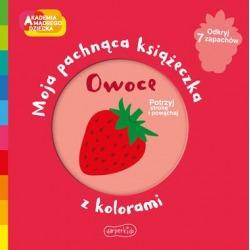 OWOCE Akademia mądrego dziecka. Moja pachnąca książeczka z kolorami Mr Iwi