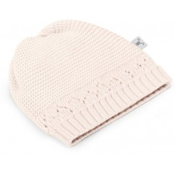 ECRU czapeczka z bawełny organicznej 0-3 m