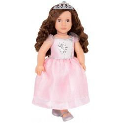 AMINA duża lalka 46 cm w różowej sukni