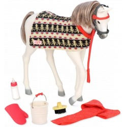 FJORD NORWEGIAN FOAL źrebak koń 30 cm dla lalki