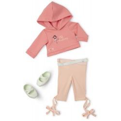 ZESTAW UBRANEK strój sportowy dla lalki 46 cm standard