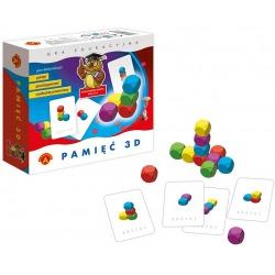 PAMIĘĆ 3D gra edukacyjna pamięciowa