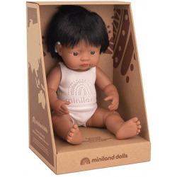 HISZPAN lalka chłopiec z implantem ślimakowym 38 cm