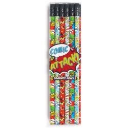 KOMIKS ołówki grafitowe zestaw 12 szt.