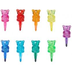 MISIE kredki przekładane zestaw 9 szt. Bunch O Bears