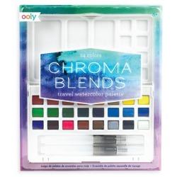 FARBKI AKWARELOWE paletka 24 kolory Chroma Blends