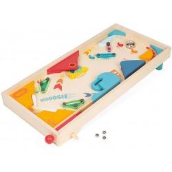 PINBALL drewniana gra zręcznościowa