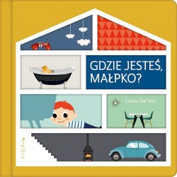 GDZIE JESTEŚ MAŁPKO? książeczka dla dzieci Lorea De Vos