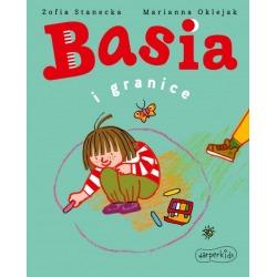 BASIA I GRANICE książka w twardej okładce Zofia Stanecka