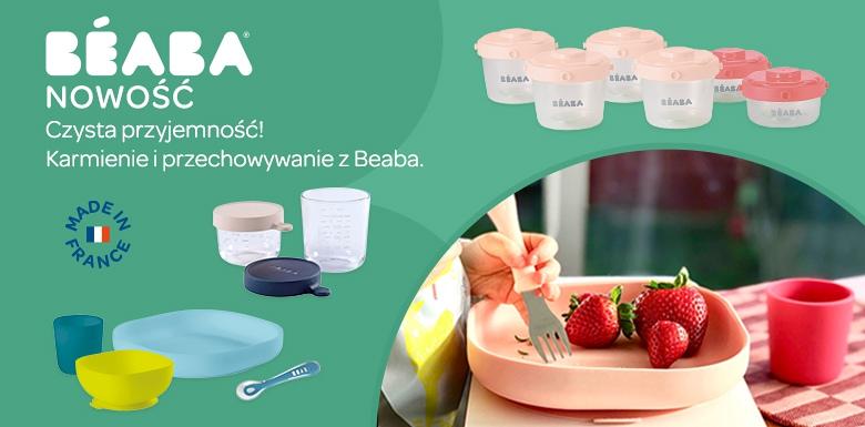Zobacz nowości z BEABA. Silikonowe naczynia i akcesoria do karmienia Maluszka.
